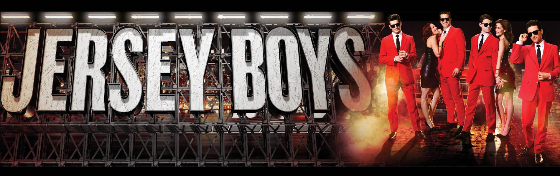 Jersey Boys Event Banner