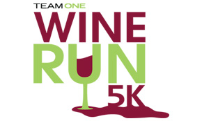 Wine Run 5k Logo