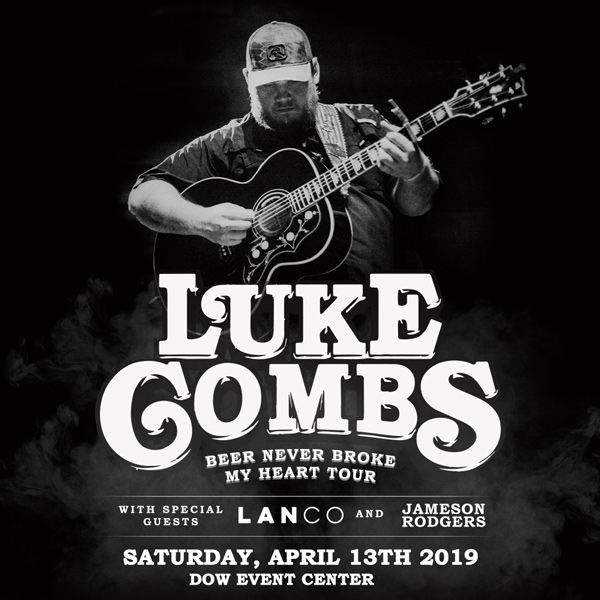 Luke Combs Beer Never Broke My Heart: Luke Combs With LANCO & Jameson Rodgers – SOLD OUT